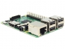 Board Raspberry PI 2 Model B (CPU Quad-Core ARM Cortex-A7 900MHz, Broadcom BCM2835 SoC, 1GB RAM, 4 x USB2.0 com saída até 1.2Amp)