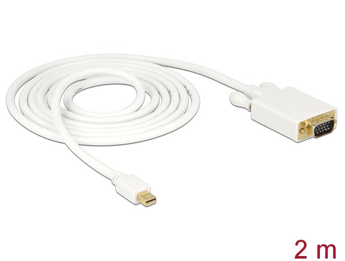 delock products 82921 delock cable mini displayport male