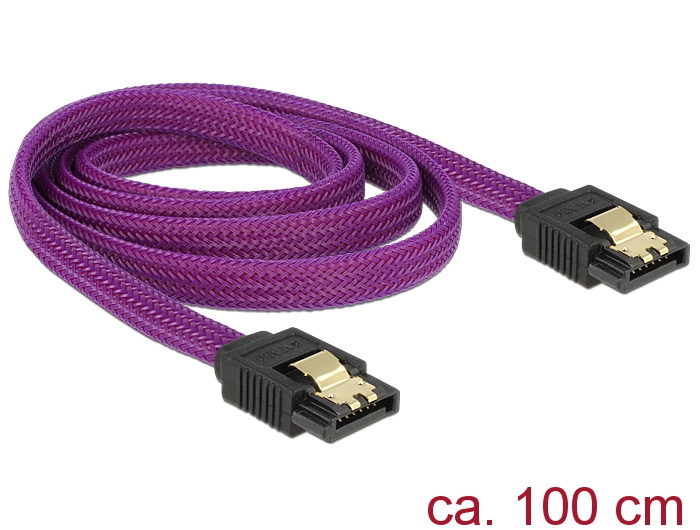 delock produkte 83692 delock sata kabel 6 gb s 100 cm. Black Bedroom Furniture Sets. Home Design Ideas