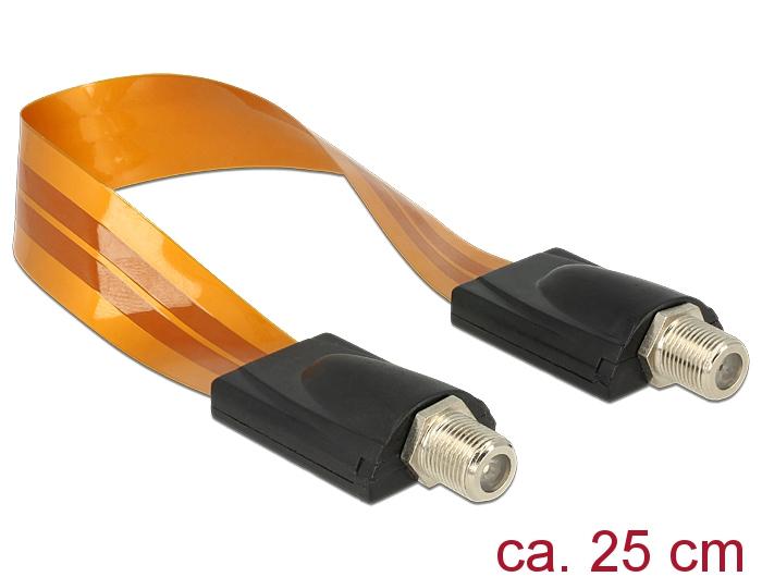 rf kabel med f kontakt