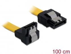 Delock Service Dokumente 82485 Delock Kabel SATA 100cm unten/gerade ...
